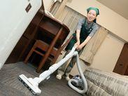 使う道具は掃除機など、普段のお掃除と変わりありません。