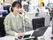 <未経験でも安心>主に配送物や時間の確認、電話応対やデータ入力をお任せ◎PCへの入力も簡単★