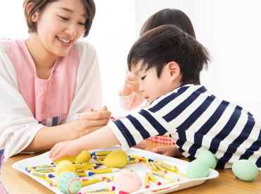 保育士免許があれば、経験年数は不問! 子どもたちと向き合う気持ちが大切です。 ※写真はイメージ
