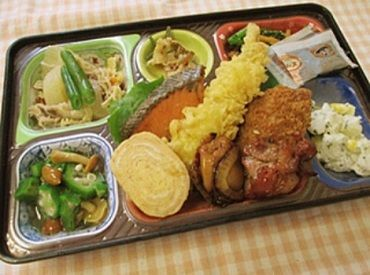 お弁当容器などの洗浄のオシゴト☆カンタン&シンプル作業♪ ※写真はイメージ