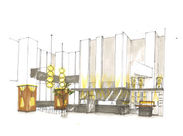 ●開放的な店内● 軽井沢発祥の「酢重」が手掛けるオトナの和空間。 天高9m、Jazzが流れています♪