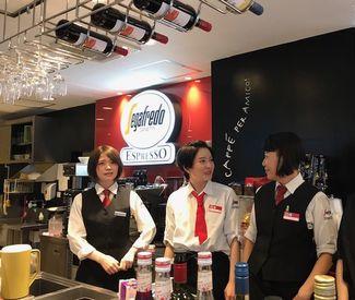 「グラッチェ!」 本場イタリア気分でお仕事♪ お店で使うイタリア語は限られているから、研修でしっかり覚えられます◎