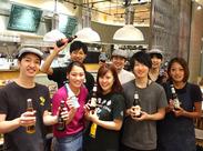 世界各国のクラフトビールなど、様々なお酒を揃えています♪ビールにあわせたボーダレスな絶品メニューと一緒に楽しめます★