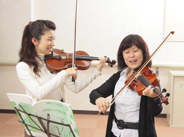【バイオリンの先生】[週1日~]特技を活かして働きませんか?お任せするのはバイオリンの先生★子ども好きな方歓迎☆経験者の方は優遇♪