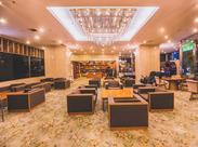 東京の観光地や杜が望める洗練されたホテル内でのお仕事です★キレイな空間だから、快適に過ごせます!