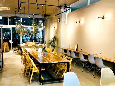地元の食材にこだわった体に優しいCAFE☆ *:. オシャレ空間で気分もUP♪ CAFEバイトデビューしませんか??