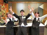 幅広い年代のスタッフが活躍中♪ 「僕たち・私たちと一緒に楽しくお仕事しましょう!!」