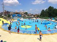 \大人気バイト/やっぱり夏はプールでしょ!学校の友達と一緒に応募するのも大歓迎です!高校生も歓迎! ※陽南プール