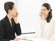 お客様の美容に関する悩みや希望を聞いてアドバイスや提案を行うお仕事です♪丁寧な研修があるのでご安心くださいね◎