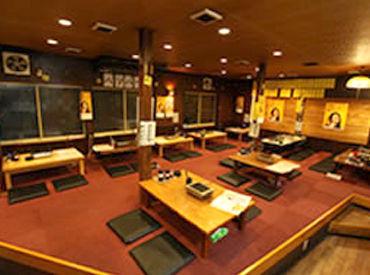 【焼肉店のホール】[週1日~OK]17時~の3hでサクッと♪シフトの相談◎≫≫プライベートも充実!高校生/学生/フリーター・・・みんな大歓迎◎