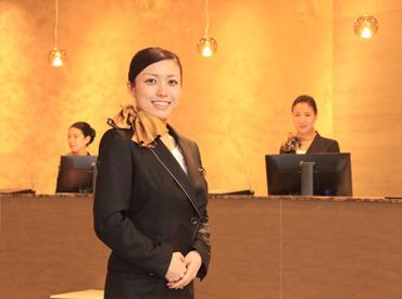 【ホテルフロント】\\世界中のお客様を、おもてなし//ゼロから学べる丁寧な研修があるから安心◎未経験からでも時給1200円スタート★
