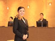 <英語・中国語などの語学力>を活かしたい方、大歓迎! 海外からのお客様も多くいらっしゃいます。 色々な方と話せるチャンス★