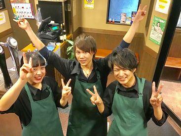 【焼肉Staff】■焼肉くささ…当店はほぼ気になりません◎■楽しく働きたい⇒学生スタッフ多数♪■お洒落したい!!⇒髪色髪型ピアスも自由~