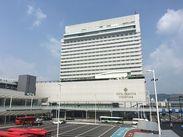 広島駅北口にある「ホテルグランヴィア広島」! 駅直結なのでアクセスもラクラクですよ!