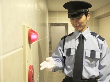 施設警備業務2級以上の資格があり、警備業務経験があればブランク等は不問です!! ※イメージ画像