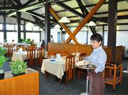 落ち着いた雰囲気のレストランです◎来店人数も予測できるので、バタバタすることなく仕事できる!