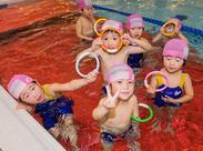 オープニングだから…綺麗な施設&新しいスタッフばかり♪ 経験者・4泳法に自信がある方には また上のクラスをご案内します!