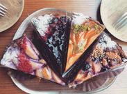 隣接しているケーキ&洋菓子店OPEN★ 出来上がった焼き菓子を運んでいただくお仕事も お願いします!!