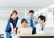 \正社員登用も積極的に行っています!/腰を据えて長く働くのにいい環境が整っています。 ※写真はイメージ