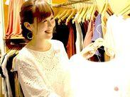 学生さん・主婦(夫)さん・フリーターさん大歓迎♪無理なく働けます!ファッション・雑貨好きも大歓迎!