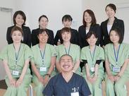 経験豊富な医師、助産師、患者様の身の回りのサポートを行うコンシェルジュまで…スタッフ勢ぞろいです◎