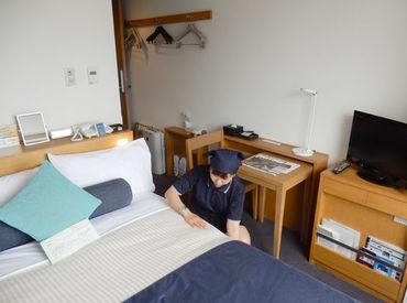 有名ホテルでお仕事★ホテル内は冷暖房完備&オシャレで綺麗な職場♪落ち着いた雰囲気の中で勤務が出来ますよ♪