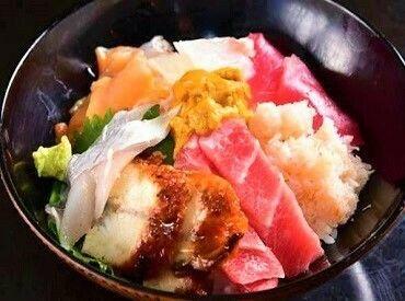 フジグラン広島内に ☆★6月NEW OPEN★☆  漁港直送の新鮮な魚を使った ≪海鮮丼≫が自慢のお店◎
