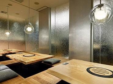 【名古屋セントラルタワーズ店】 氷のようなガラスのオブジェで構成した スタイリッシュな店内* 駅直結で通勤もラクラク♪