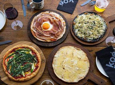 新業態「koe pizza」の募集☆* 新年度から新しいバイトを始めませんか? 接客に挑戦したいアナタに♪