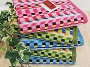 全国80店舗でオリジナルのタオルを販売する企業の本社事務♪難しいPCスキルは不要!未経験・ブランクOK☆