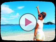 私が自慢したいビーチがこちら☆ 毎日こんなきれいな海が見られるなんて最高でしょ?! SNSで「いいね!」が止まらないよ!!