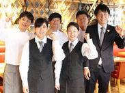 ご予約メインだから、1組1組のお客様に丁寧に関わっていただけます!接客が好きな方、周りを笑顔にしたい方にオススメです♪