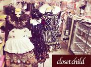 ゴスロリ系のお洋服好きにはたまらない♪ たくさんのブランドを扱っています★