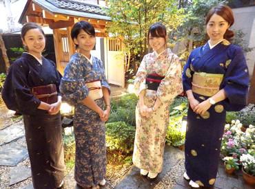 【日本料理Staff】京都を思わせる、情緒あふれる店内♪.:*・゚中庭があり、落ち着いた和の雰囲気◎グルメサイトで高評価★★★