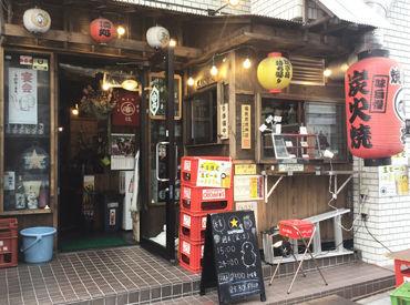 \超近い!中野富士見町駅1分/ にぎやかすぎないから、お客さんとお話を楽しみながら働けますよ♪時間が経つのもあっという間★