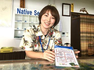 【フロントSTAFF】\奄美大島でリゾートバイト/豊かな自然に囲まれて働こう!海が見渡せる絶景の職場♪ダイビングなどのアクティビティは無料