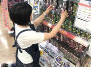 難しいお仕事はありません*値段シールを貼った商品を売り場に並べてて‥商品の場所は大まかにゆっくり覚えていけばOK♪