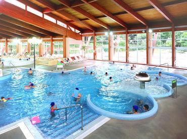\プール監視のお仕事☆彡/ 屋内プールは冬でも運営しているので、長期で働きたい方、大歓迎ですよ♪
