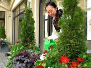 綺麗なお花に囲まれて働きませんか?お花の知識が無くてもOK!季節によって育てる花が変わります★