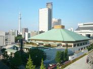 両国国技館で相撲が楽しめるのは、毎年1月、5月、9月のみ!今回は1月場所のSTAFF募集です♪この機会をお見逃しなく!