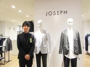 世界各国にショップを構え、優れた品質と時代性を高く評価されてきた「JOSEPH HOMME」!上品で都会的な装いにはファンが沢山◎