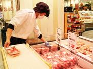 お肉20%OFFの社割はスタッフ全員に大好評♪ 「こういったお得な点が仕事のやる気に繋がりますね!」(STAFFより)