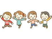 「子どもが好き」「資格や経験を活かしたい」という方歓迎!周りのSTAFFも一緒のタイミングでスタートするから心強い☆