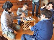 アルバイトも参加の開発合宿 (Unity, ボードゲーム, VRの開発など)