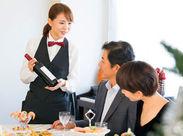 勤務先は誰もがよく知る有名ホテル!友達に自慢したくなる♪働きながらマナーも身につく!※写真はイメージ