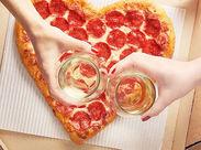 CMでも有名なピザハットのチラシ配りのお仕事◎ピザを社割でオトクに買えちゃうのも嬉しいポイントです♪