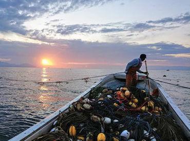 「海・釣りが好き」等…応募理由は何でもOK! ★不安な方は1日の体験勤務もOK! まずはお気軽にご応募下さい♪