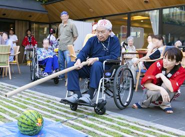 """『ガーデンテラス仙川』は、""""介護のための施設""""ではなく""""高齢者向けの住宅""""。ご利用者様との会話を大切にしています♪"""