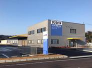 昨年完成した新しい事務所です。 駐車場も広いので、車通勤に便利。