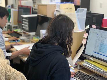 ≪快適なオフィスでお仕事♪≫ 曜日も勤務日数も、全部相談OK!